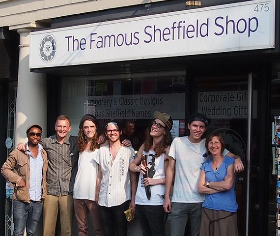 Famous Sheffield Shop Front